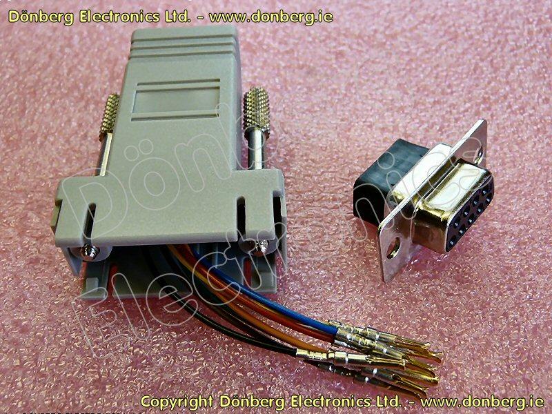 db9 prise rj45 prise modulaire adaptateur. Black Bedroom Furniture Sets. Home Design Ideas